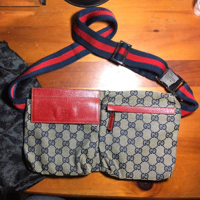 9eae2c79e8c Gucci Canvas Belt Bag Size one size - Bags   Luggage for Sale - Grailed