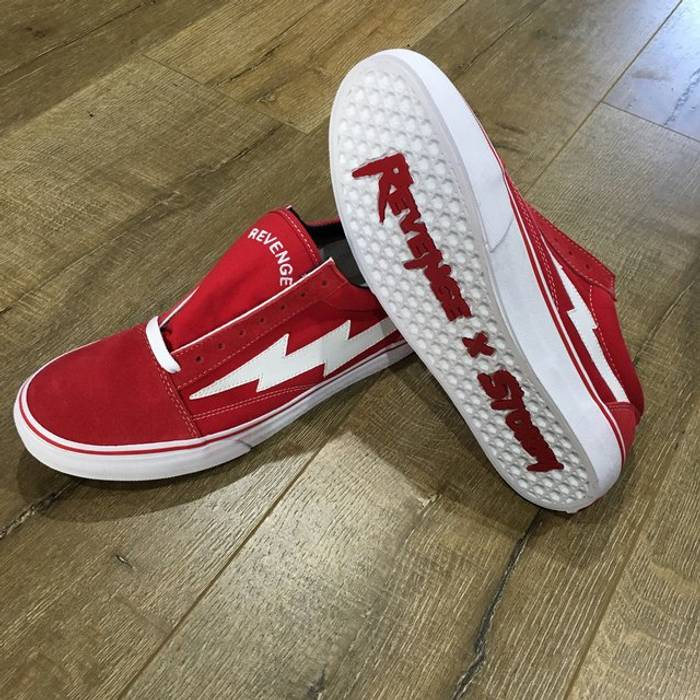 Ian Connor Red Vans Size 10 - Low-Top Sneakers for Sale - Grailed 713815e5f