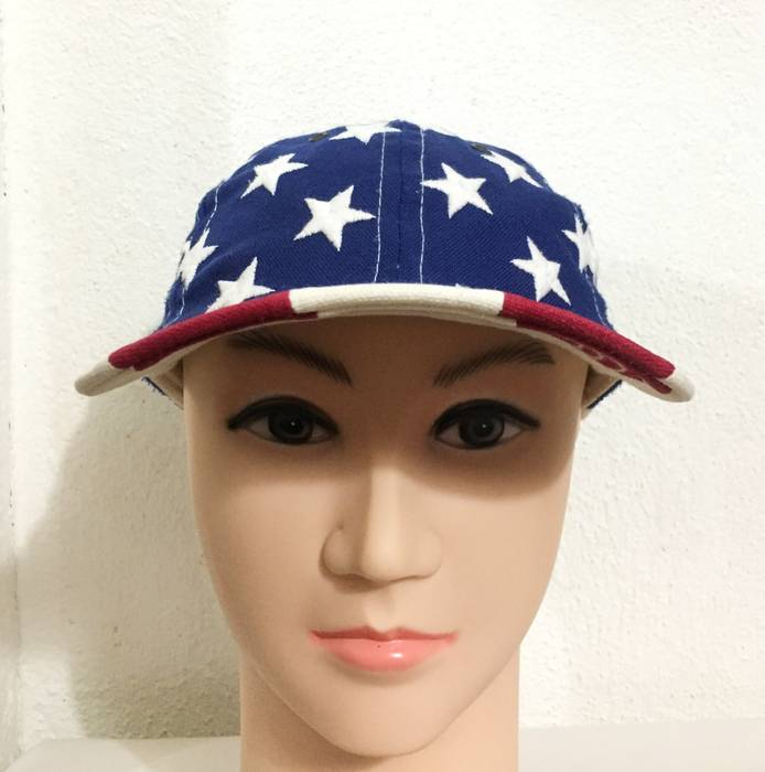 America RARE! Vintage AMERICAN FLAG Usa Cap Limited Editions Red ... 7a85b1fd5de