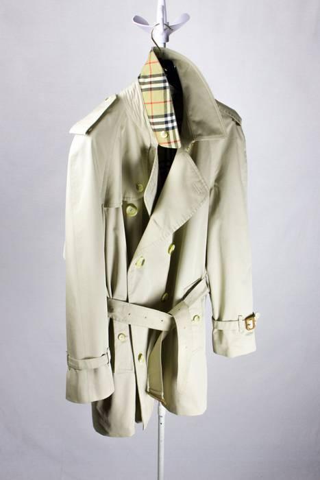 Burberry Burberry Trench Coat Beige Bespoke Vintage Raincoat Mac Jacket  Trenchcoat Size US XL   EU 3a28911c361