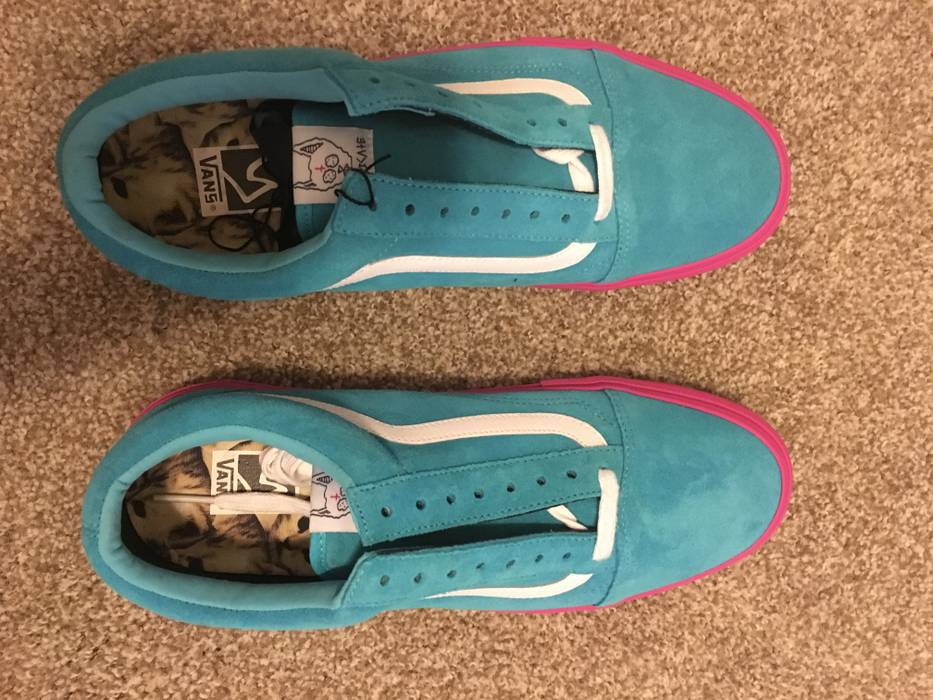 e15f9aa991 Vans Vans syndicate Golf Wang (Blue Pink) Size 12 - for Sale - Grailed