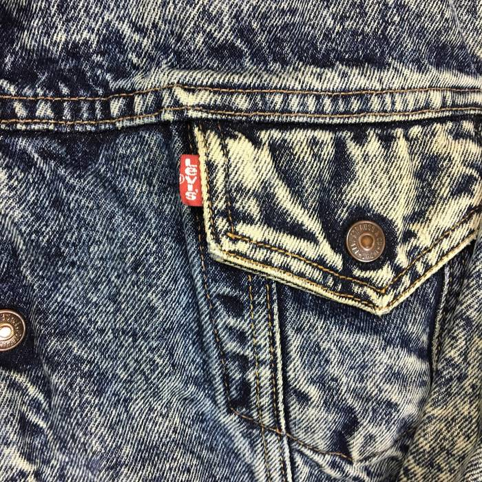 1376ea620b Levi s Vtg Levis Sherpa Denim Jean Jacket XL Trucker big e shirt hat  sweater Acid Wash
