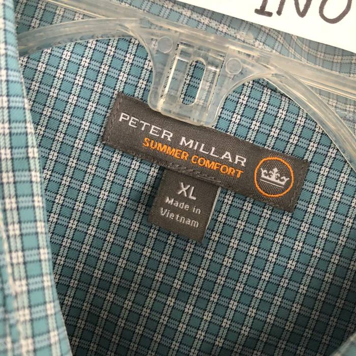 dc9ea5aefb2 Peter Millar Peter Millar Summer Comfort Long Sleeve Button Down Stretch  Performance Shirt XL Size US