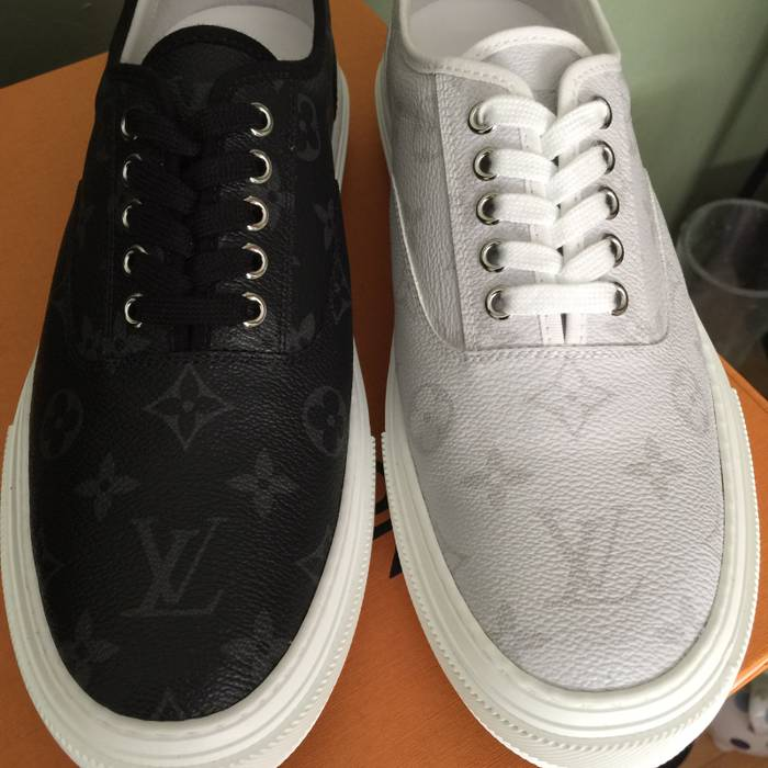 Louis Vuitton Trocadero sneaker Black Or White LV 8.5 (US 9.5-10.5 ... 35590955e56