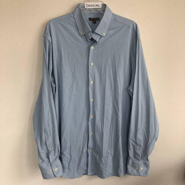 6ed155622dc1 Peter Millar Peter Millar Summer Comfort Button Down Front Long Sleeve  Stretch Shirt Size US XL