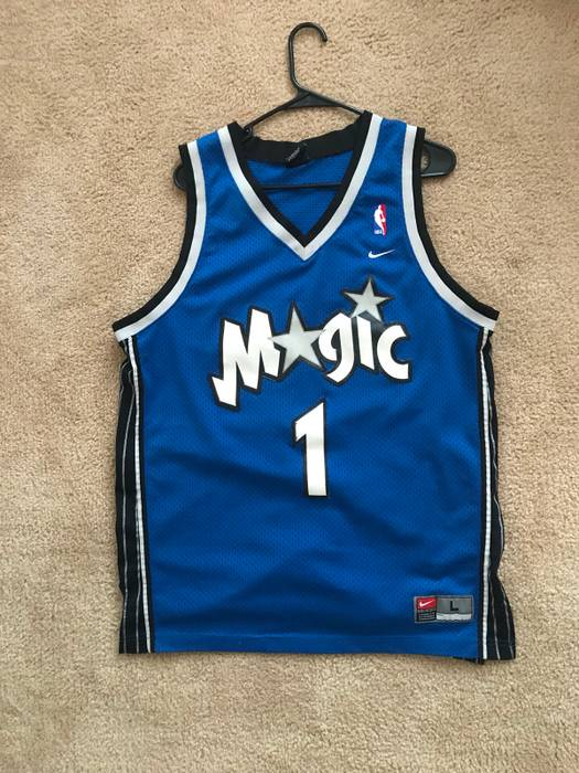 d53dc4d21 ... discount nike vintage nike orlando magic tracy mcgrady tmac jersey size  us l eu 52 143a4