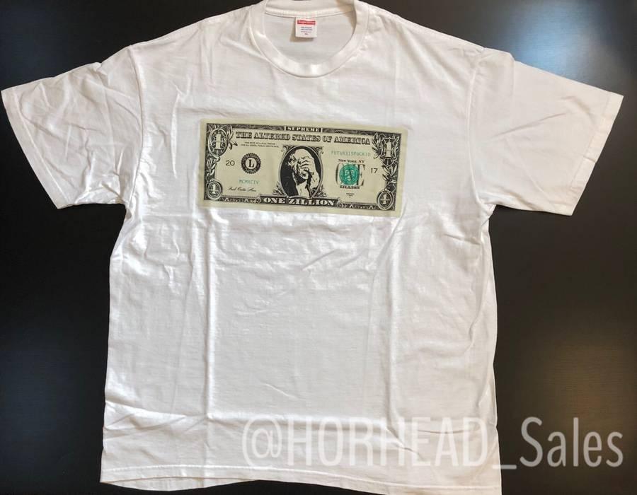 Supreme Supreme 100 Dollar Bill T Shirt White Size Us Xl Eu 56 4