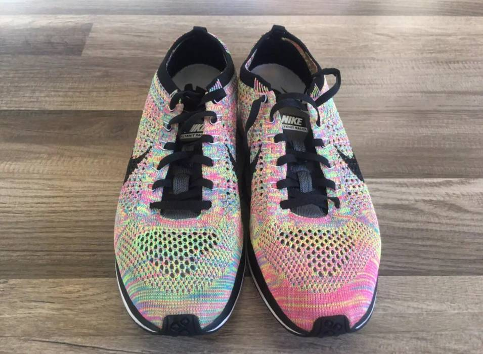 16d29c2132af Nike Flyknit Racer Multicolor 2.0 Size 9 - Low-Top Sneakers for Sale ...
