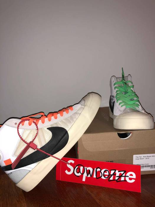 online store a7ae1 11b90 Nike The 10   Nike Mid Blazer X
