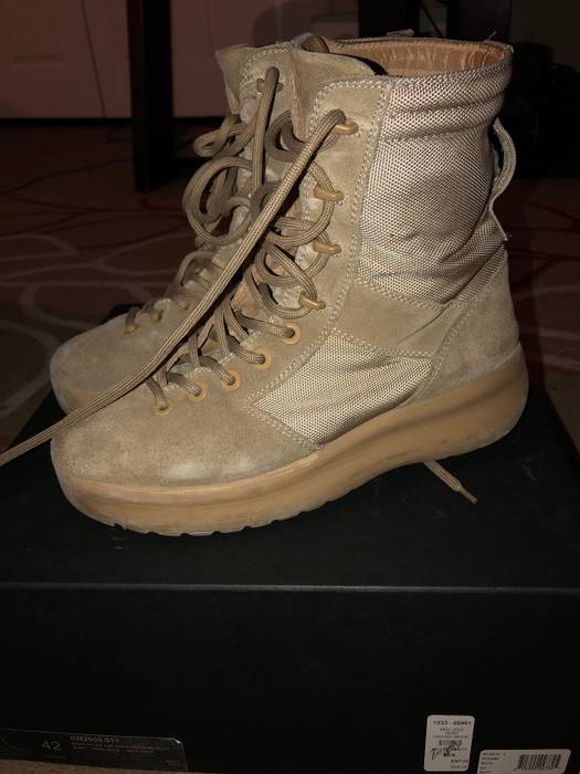 d3da5b275 Yeezy Season Season 3 Military Boot Size 10 - Boots for Sale - Grailed
