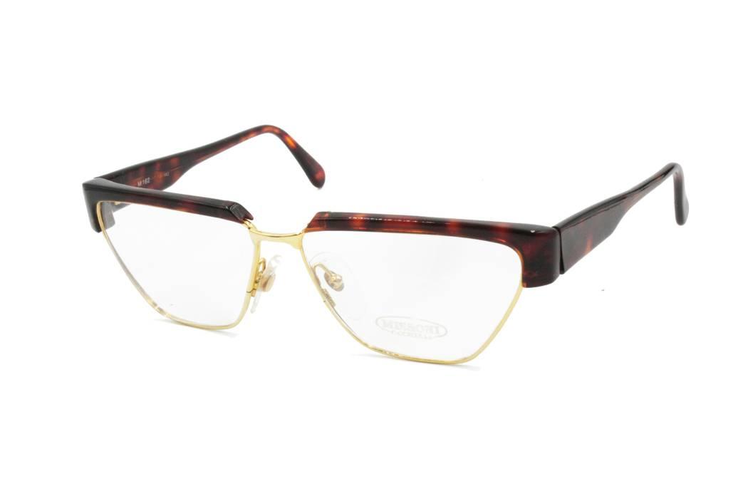 d4767ab60e872b Missoni Eyeglasses frame MISSONI M 162 polygonal golden frame ...