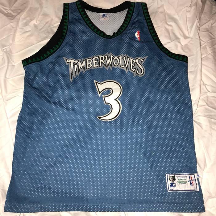 589232b09 Starter Stephon Marbury Timberwolves Jersey Size m - Jerseys for ...