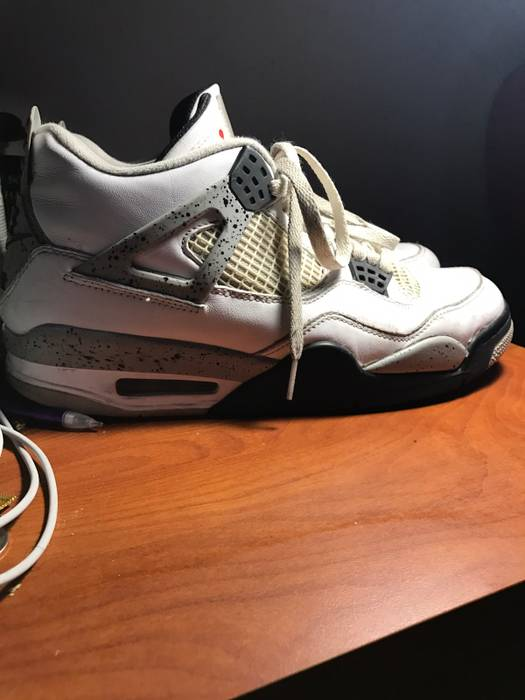 e7ab2a47f095 Nike Air Jordan White Cement 4 Size 11 - Low-Top Sneakers for Sale ...