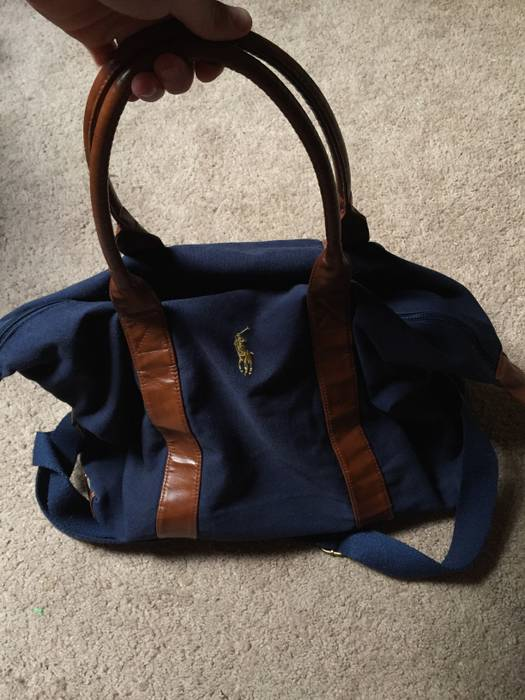 304c65667565 Polo Ralph Lauren Navy blue duffle bag Size one size - Bags ...
