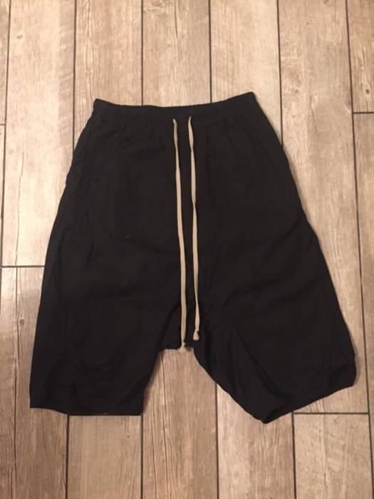 Rick Owens Black PANTALONI BASKET SWINGER Shorts Size 30 - Shorts ... d208dfc21159