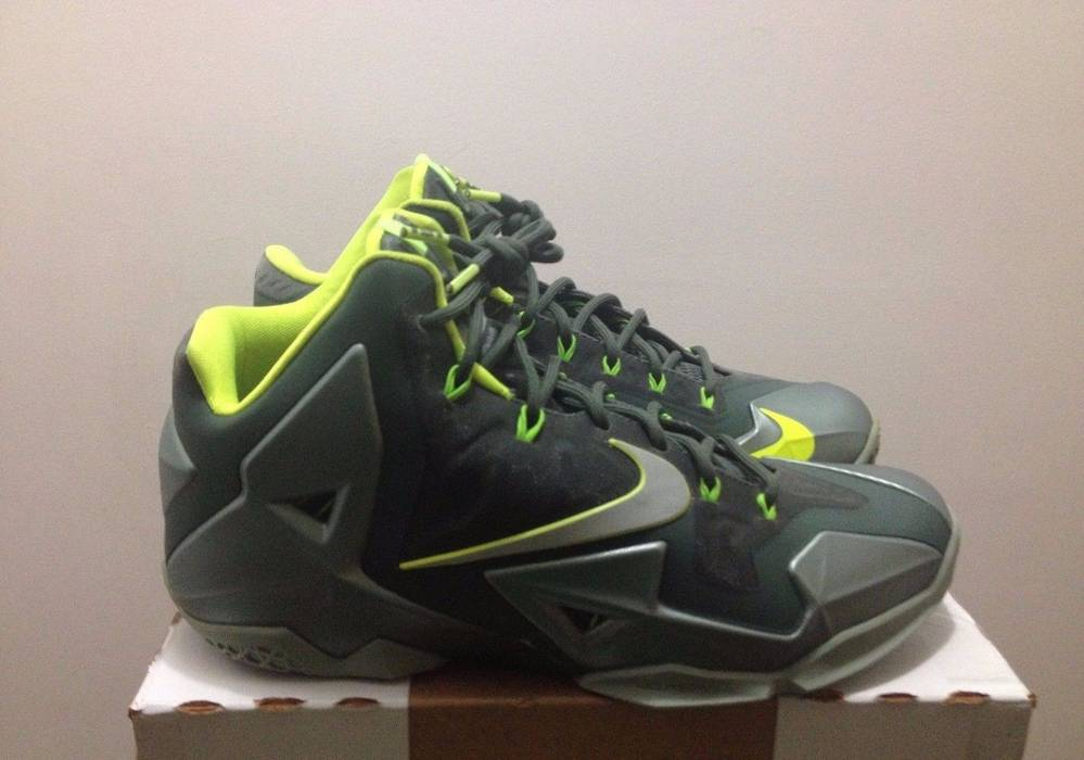 the latest 52647 e3b56 ... czech nike nike lebron xi 11 dunkman mica green volt sea spray 616175  300 9a329 bc252