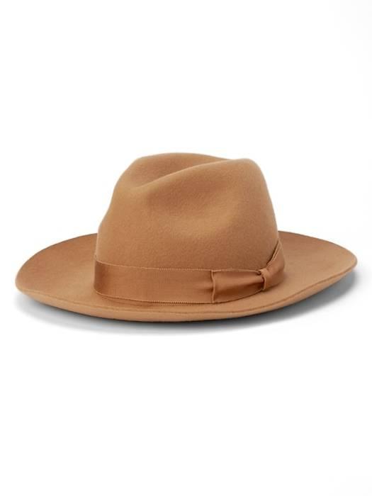 Gap United Arrows x GAP Camel Wool Fedora Size one size - Hats for ... a2f7de6d83b