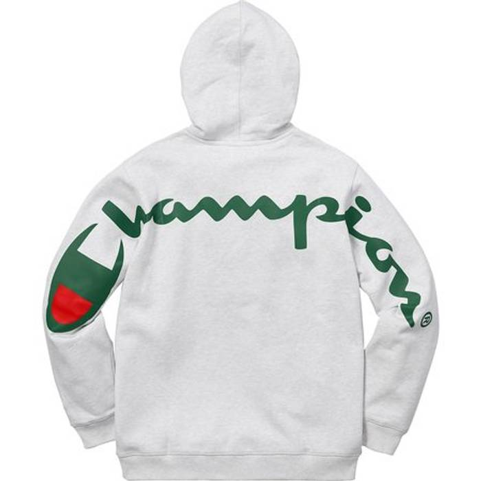 b3727ae57e9 Supreme Supreme Champion Gray Gucci Hoodie Size m - Sweatshirts ...