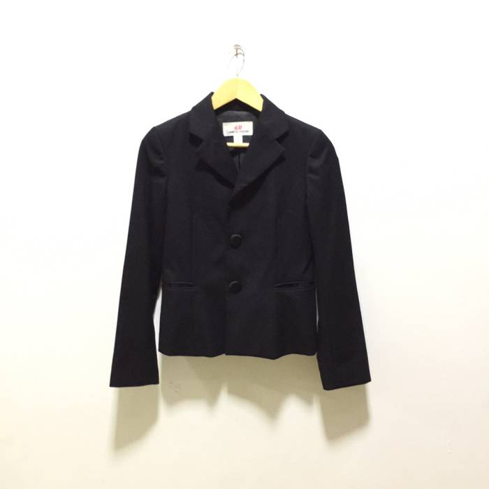 efb462b68469 Comme des Garcons Comme des Garcons x H M Blazer Coat Rare Size 36s ...