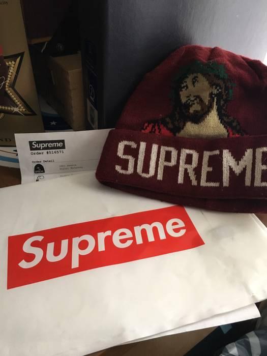 Supreme Supreme INRI Beanie Size one size - Hats for Sale - Grailed e7f133c8f23