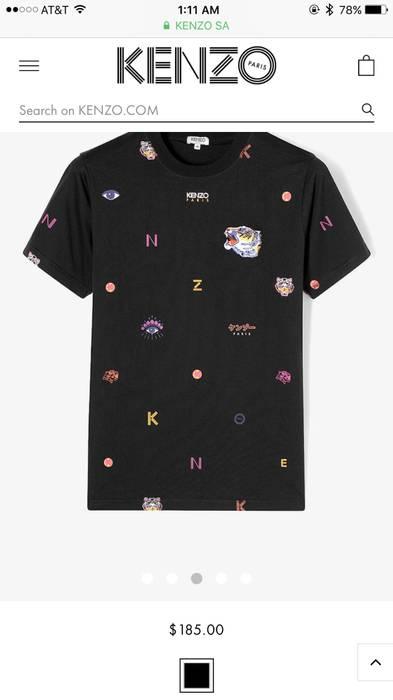 332bb475 Kenzo Multi Icons Kenzo Paris T-shirt Size xl - Short Sleeve T ...