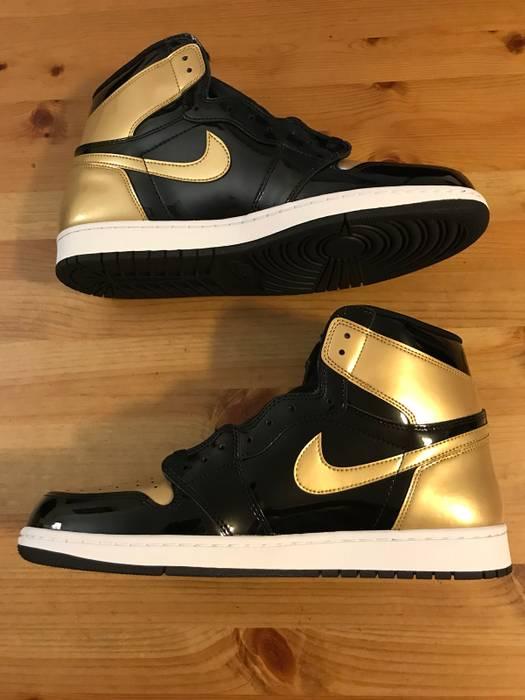 f6f3c32cabf4c6 Jordan Brand Jordan Retro 1 Gold Toe DS Size 14 - Low-Top Sneakers ...
