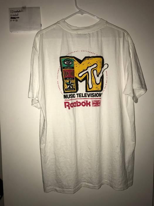 Reebok Vintage Reebok MTV Tee Shirt Size US XL / EU 56 / 4