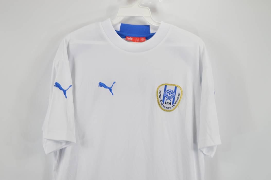Puma PUMA Mens Small Israel Israeli National Team World Cup Soccer Jersey  White Size US S f5f807550