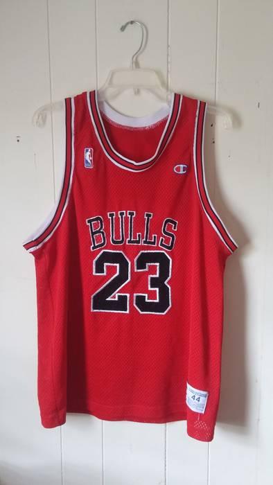 932d8e0bc82e Champion Chicago Bulls Michael Jordan Jersey Size m - Jerseys for ...