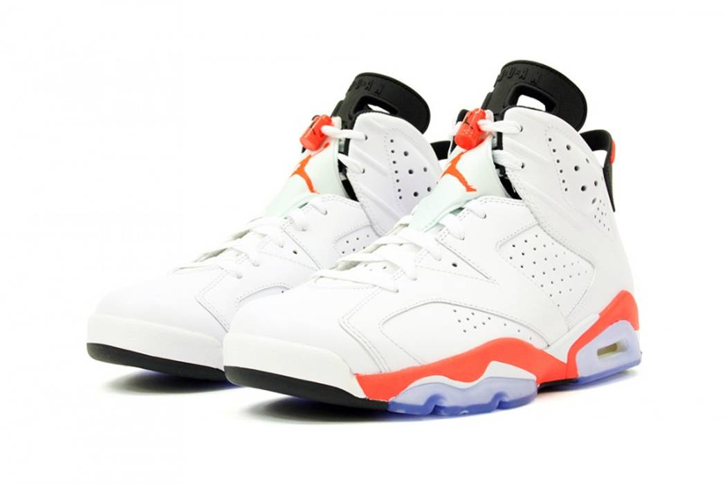 0e79a402d288bb Jordan Brand. Nike Air Jordan 6 VI Retro White Infrared. Size  US 13   EU 46