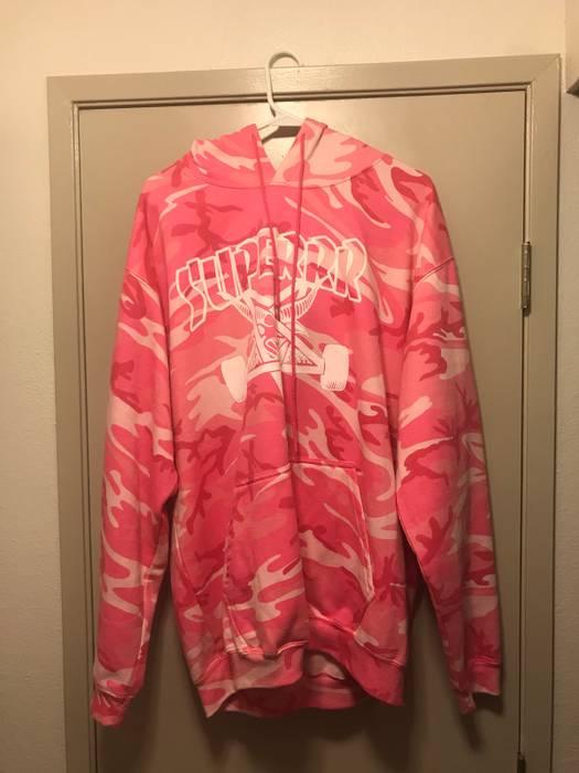 d3b0a6e0fc62 Thrasher Superrradical Thrasher Hoodie rip Size l - Sweatshirts ...