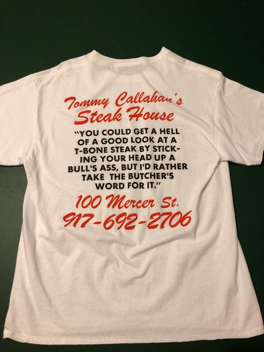 Call Me 917 Tommy Can S Steak House Tee Size Us L Eu 52 54
