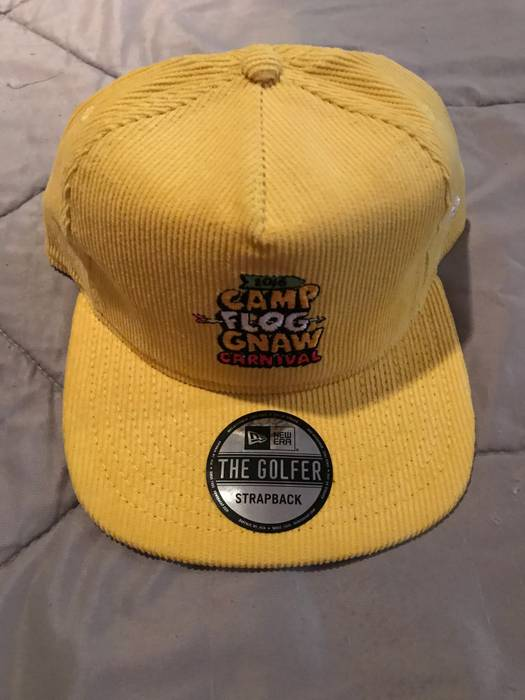 ec40fa36988 Golf Wang Yellow Camp Flog Gnaw 2016 Hat Size one size - Hats for ...