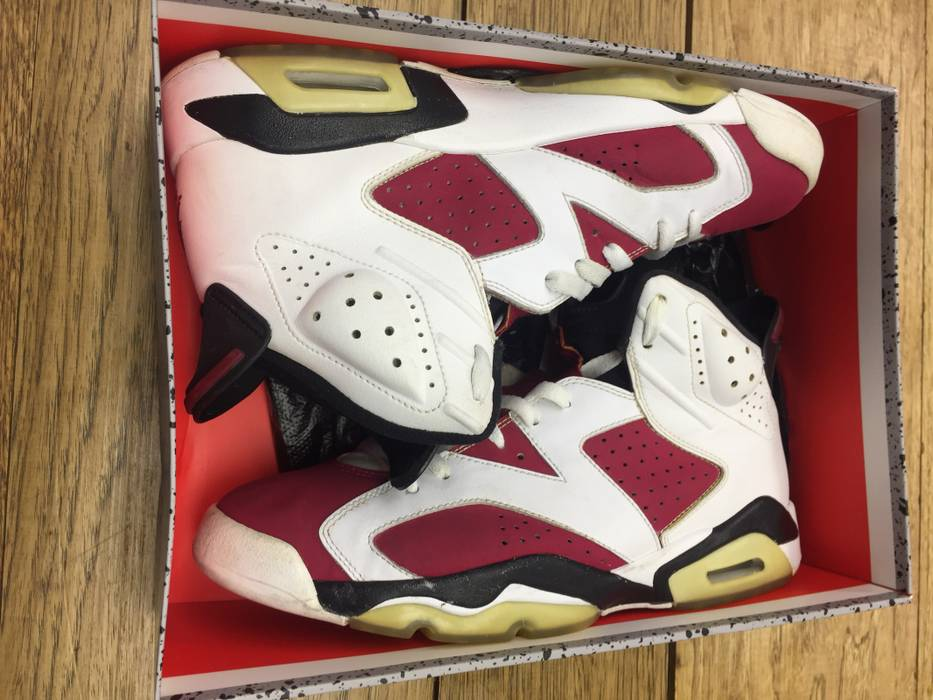 72cea51023ce95 Jordan Brand Carmine Retro 6 07  08  Size 10 - Hi-Top Sneakers for ...