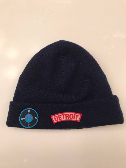 Raf Simons Detroit Beanie Size one size - Hats for Sale - Grailed 0855bf3ddca