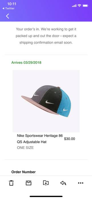 Nike Sean Wotherspoon Nike Hat Size one size - Hats for Sale - Grailed ecdd65b1200c