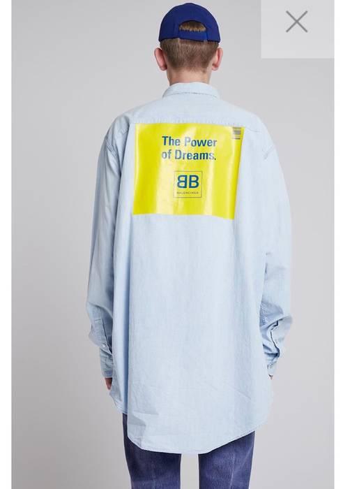 93be6c118e38e6 Balenciaga Balenciaga Dream Big Shirt 2018 Size l - Shirts (Button ...