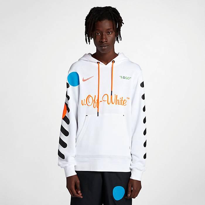 41ce1b97f Nike Off White x Nike Football Hoodie Size m - Sweatshirts   Hoodies ...