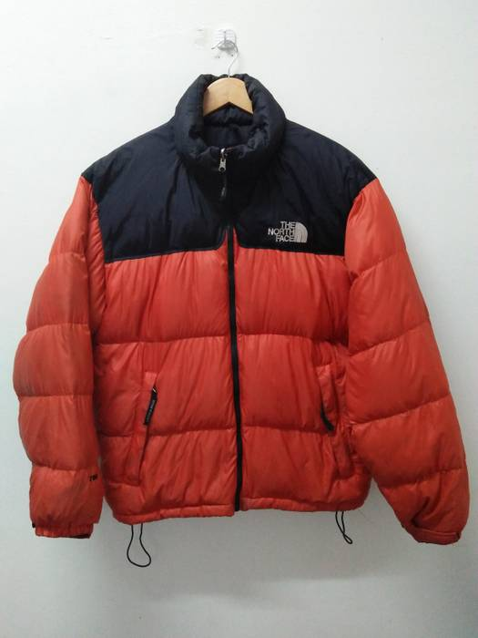 abb333a9221b ... coupon for the north face the north face puffer down jacket orange  black colour size us