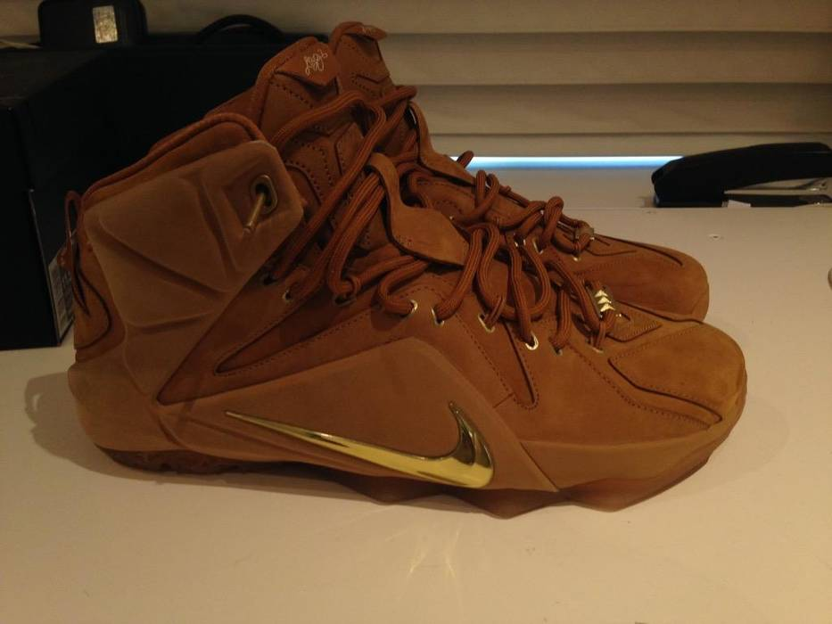 c20a844d84c5 Nike Lebron 12 Wheat Size 11.5 - for Sale - Grailed