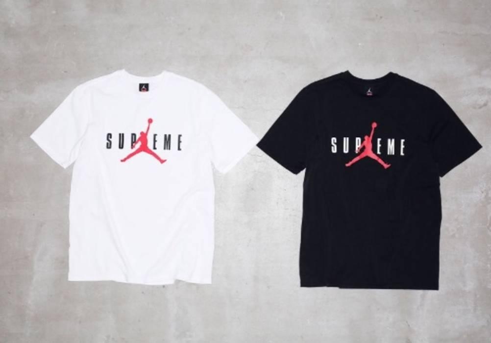 b4378be6c65 Supreme Supreme Jordan Tee Black Size l - Short Sleeve T-Shirts for ...