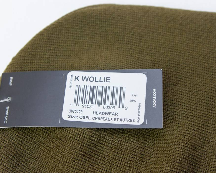 980a4d95ec8 Adidas Adidas X KITH Soccer Rays Olive Beanie Hat K Wollie Size ONE SIZE - 2
