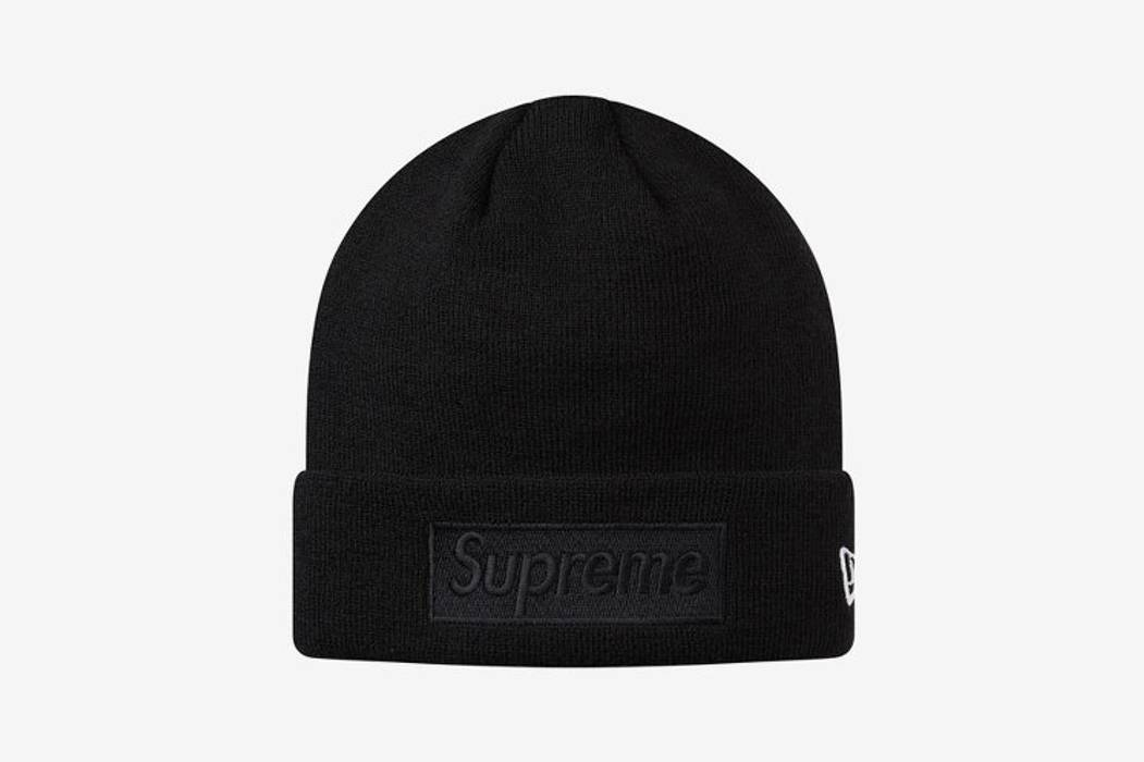 Supreme New Era Tonal Box Logo Beanie Size one size - Hats for Sale ... 79eb4fea98a