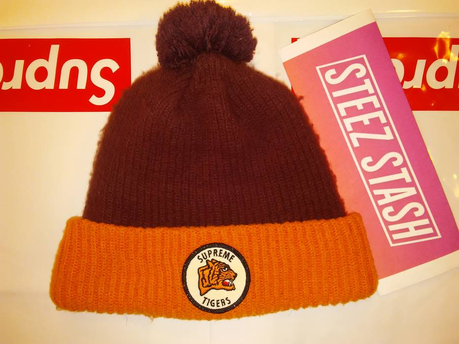 Supreme FW11 Supreme Tiger Beanie Size one size - Hats for Sale ... 07f6e710d1d