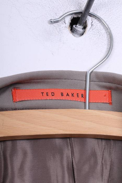 cbd058f58505c Ted Baker Ted Baker Accelerated Mens 44R XL Blazer Jacket Grey Single  Breasted Wool 3457 Size