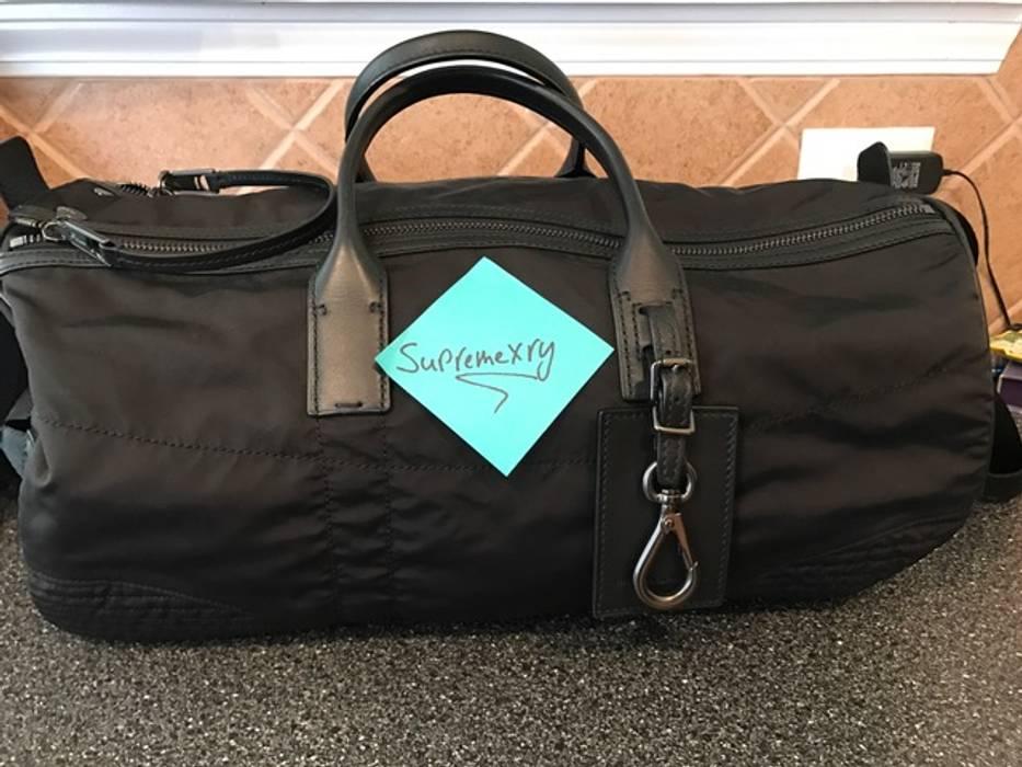 fe100f3c3b89 Ralph Lauren Black Label Nylon Military Duffel Weekender Bag Size ...