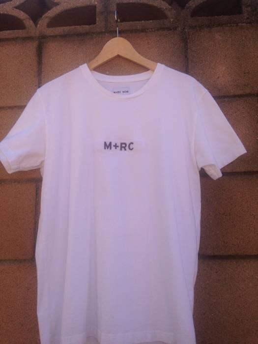 f526865d50b2 M+Rc Noir  FINAL DROP  m+rc White Velcro Tee Size l - Short Sleeve T ...