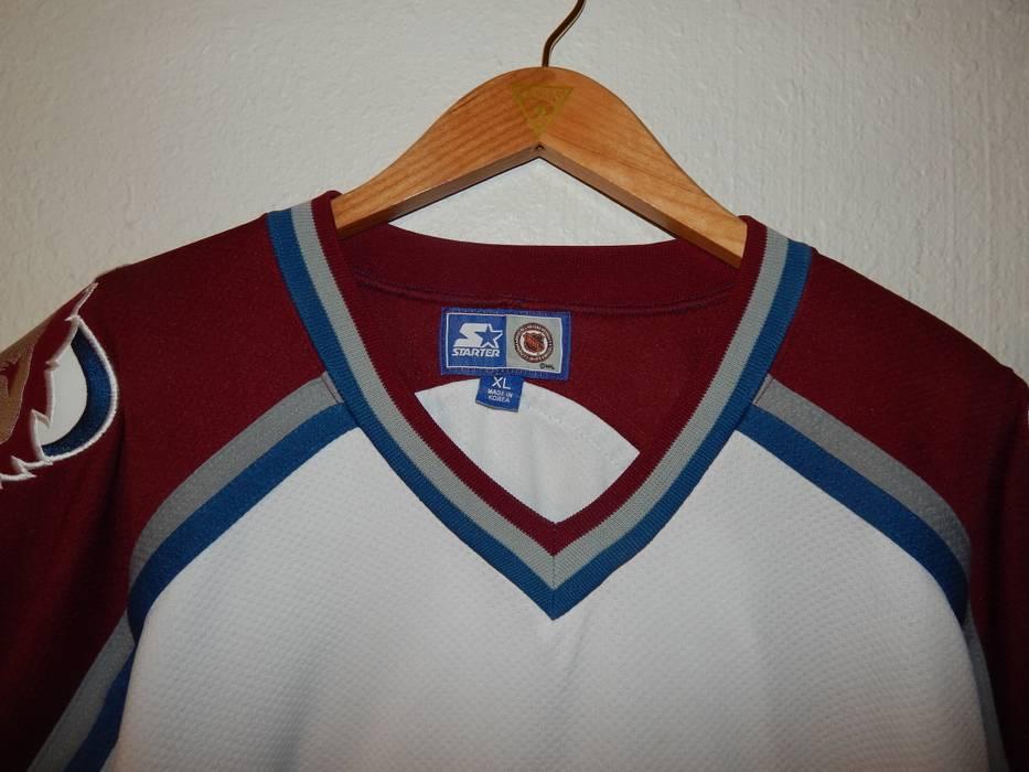 Vintage VTG Starter Colorado Avalanche Hockey Jersey Size US XL   EU 56   4  - a3cff7ad6