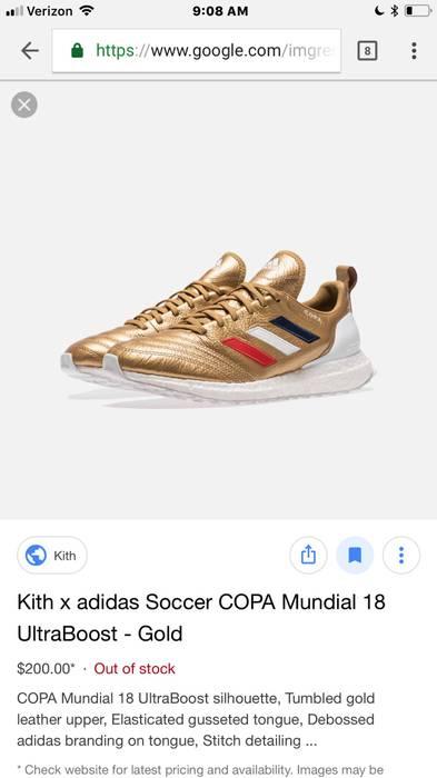 half off 46f68 fc072 Adidas Copa Mundial 18 Ultra Boost Size US 7  EU 40