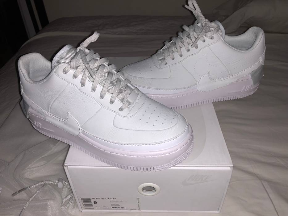 Nike Nike Air Force 1 Reimagined Jester XX Off White Size 7.5 Men s And  Women s 9 42b414bfa